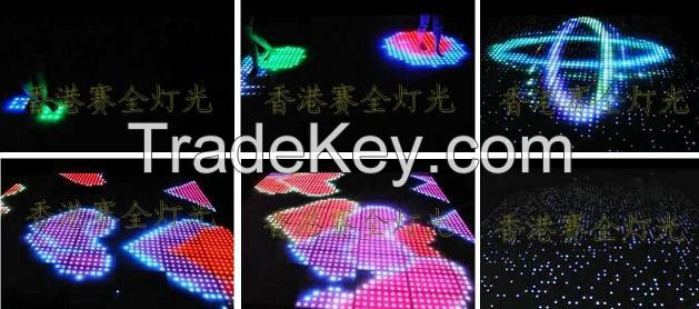 LED Professional High quality touch-sensitive removable indoors outdoors dance floor lighting