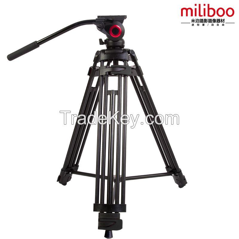 miliboo Iron Tower Professional  Portable Video Tripod with Hydrualic Head /Digital DSLR Camera Stand tripod