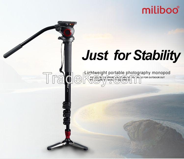 miliboo MTT705A Portable Aluminium Tripod for Professional Camera Camc
