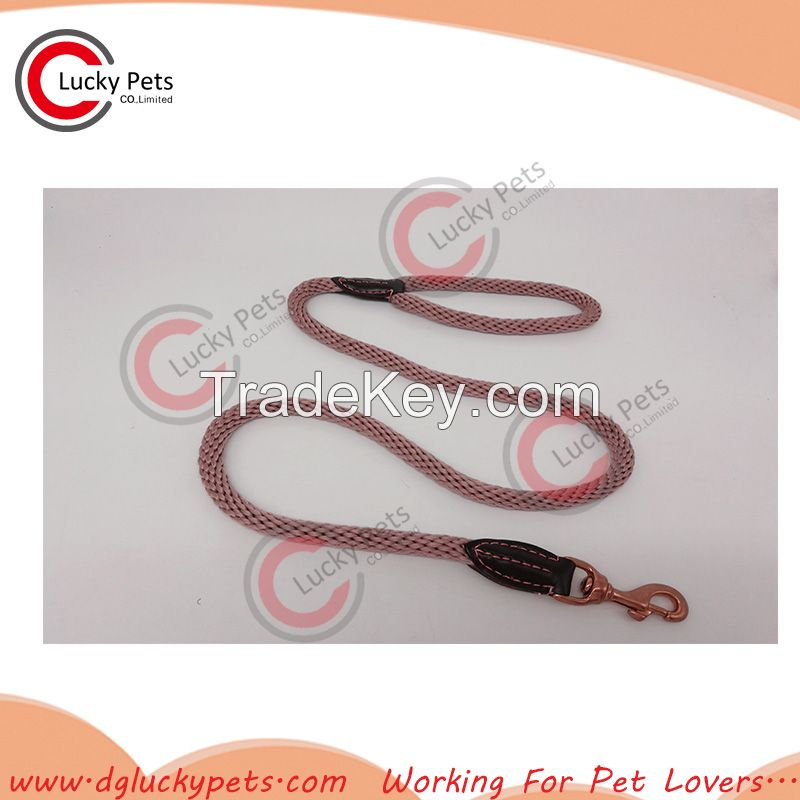 2017 Spring Hot Selling Braided Rope Dog Leash