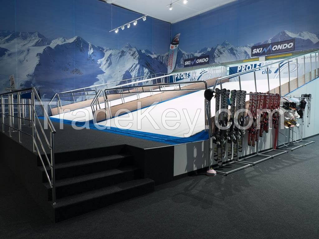 Proleski PRO2 professional training automatic infinite ski slopes skiing snowboarding machines
