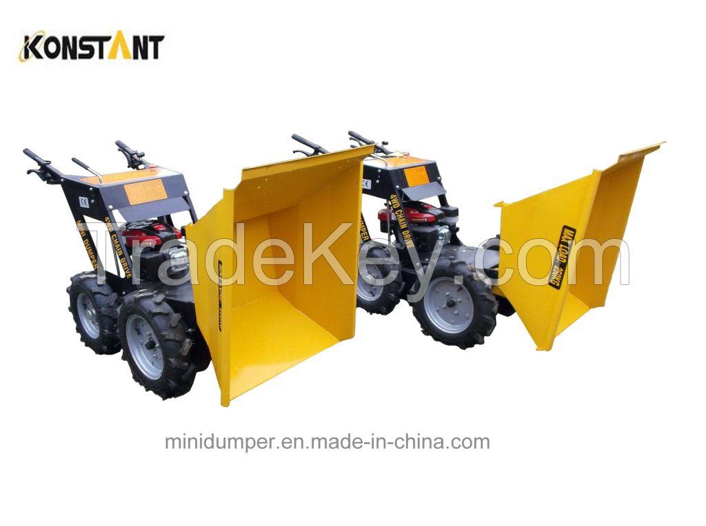 4WD Muck Truck Mini Dumper Mini Transporter Machine