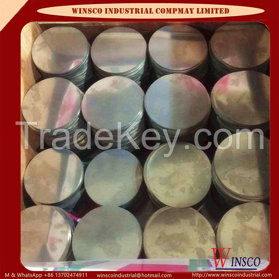 Cold Rolled Stainless Steel Circle 410