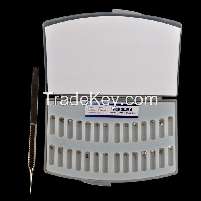 Dental  Bondable Self-Ligating Orthodontic Bracket
