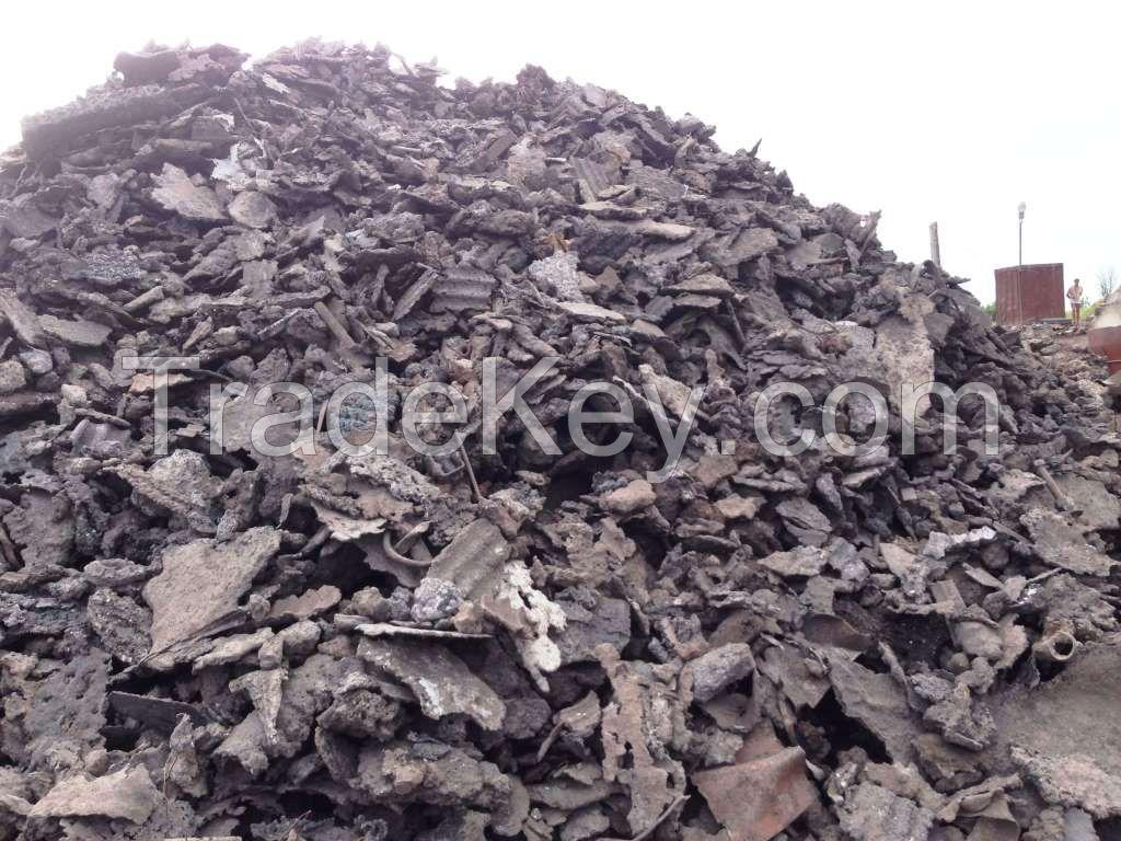 Iron and steel slag, waste metal