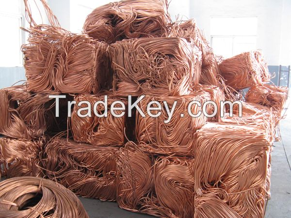 Copper Wire Scrap, (Millberry) 99.99%