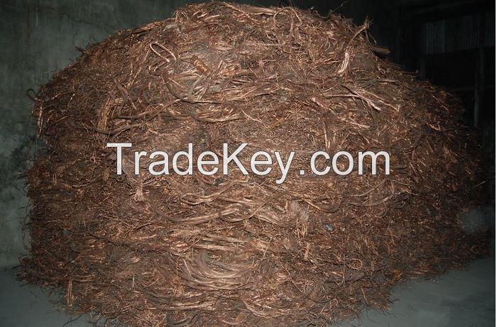 Copper Scraps 99.99% for Sale
