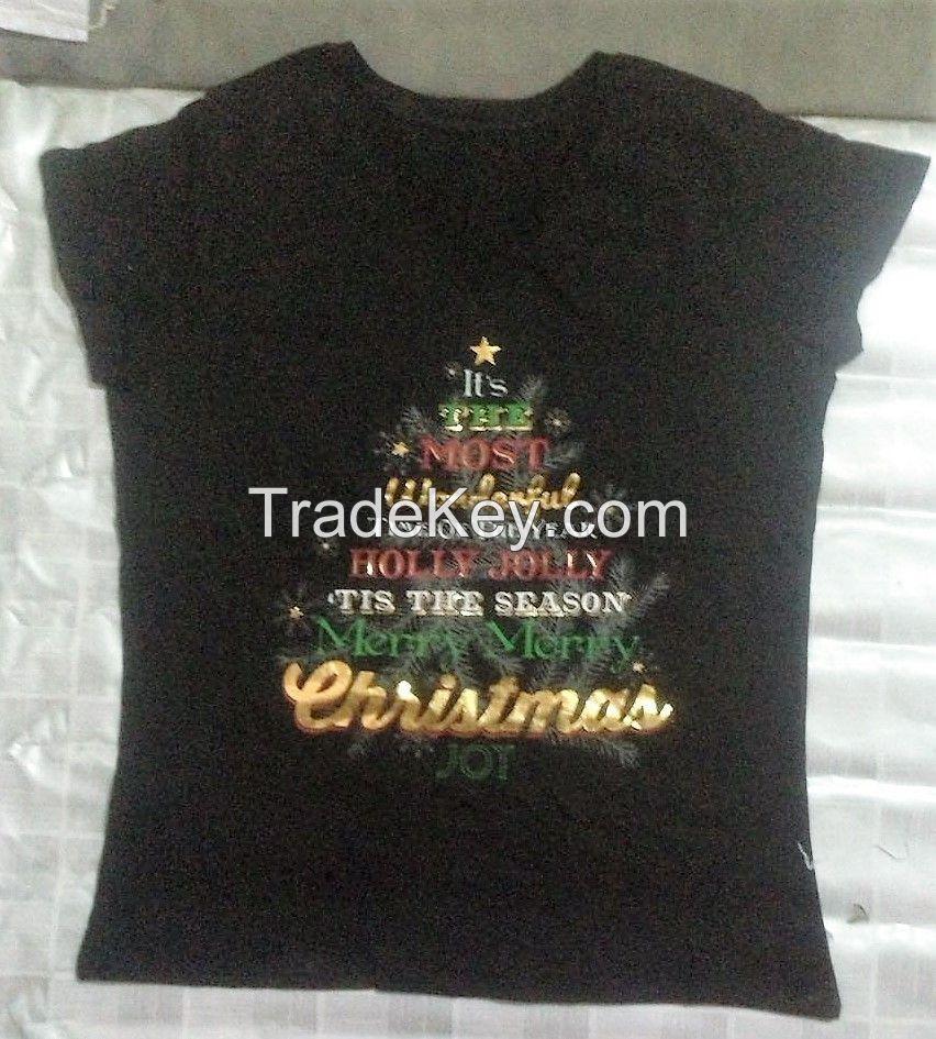 Ladies Hosiery T-Shirt Stock Lot