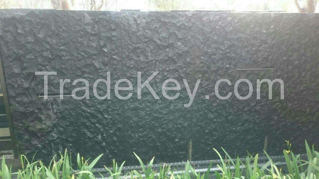 G684 (Pearl Black) Natural Split Granite Tile