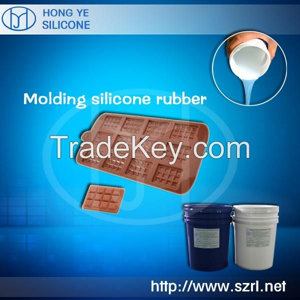 Food grade rtv liquid silicone rubber for food type mold making