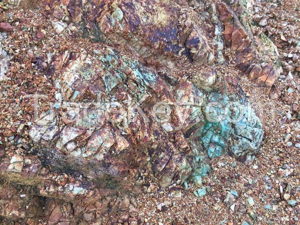 Copper Ore Lumpy