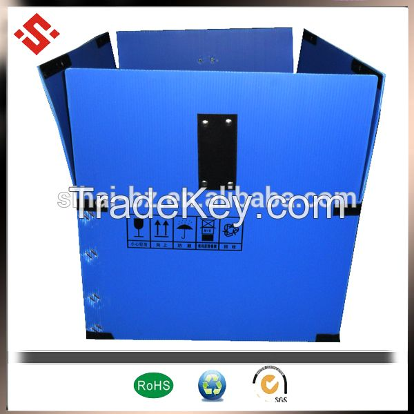 guangdong china pp corrugated box for win glass