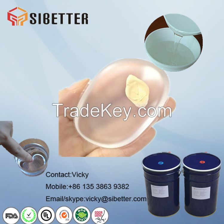 Liquid Silicone Gel Raw Material for Silicone Makeup Sponge