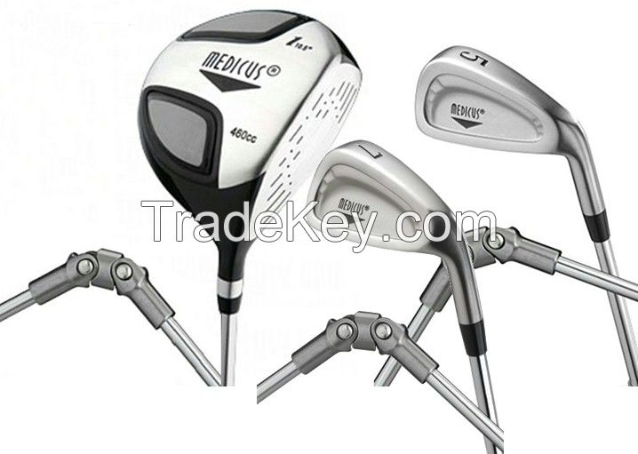 Medicus Golf clubs and Golf training aid  and GOLF equipments