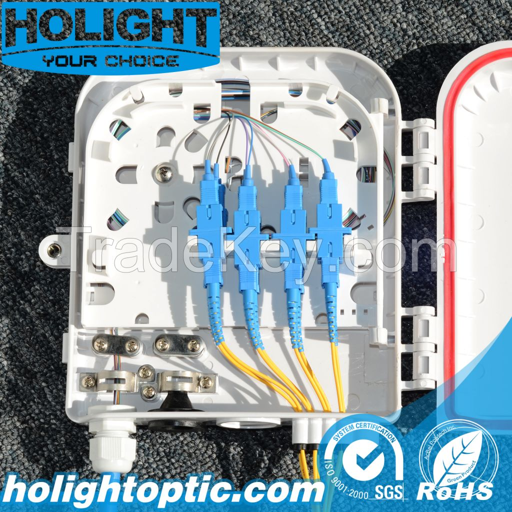 Fiber Optic 2-8 Ports Terminal Box