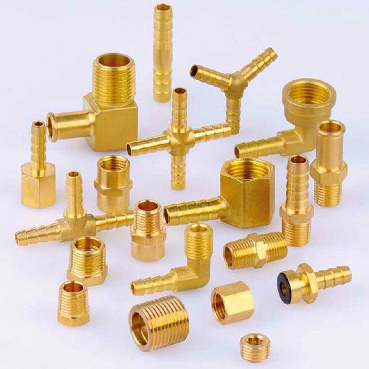 brass connectors ,hose barb connector , brass bushing ,brass nipple