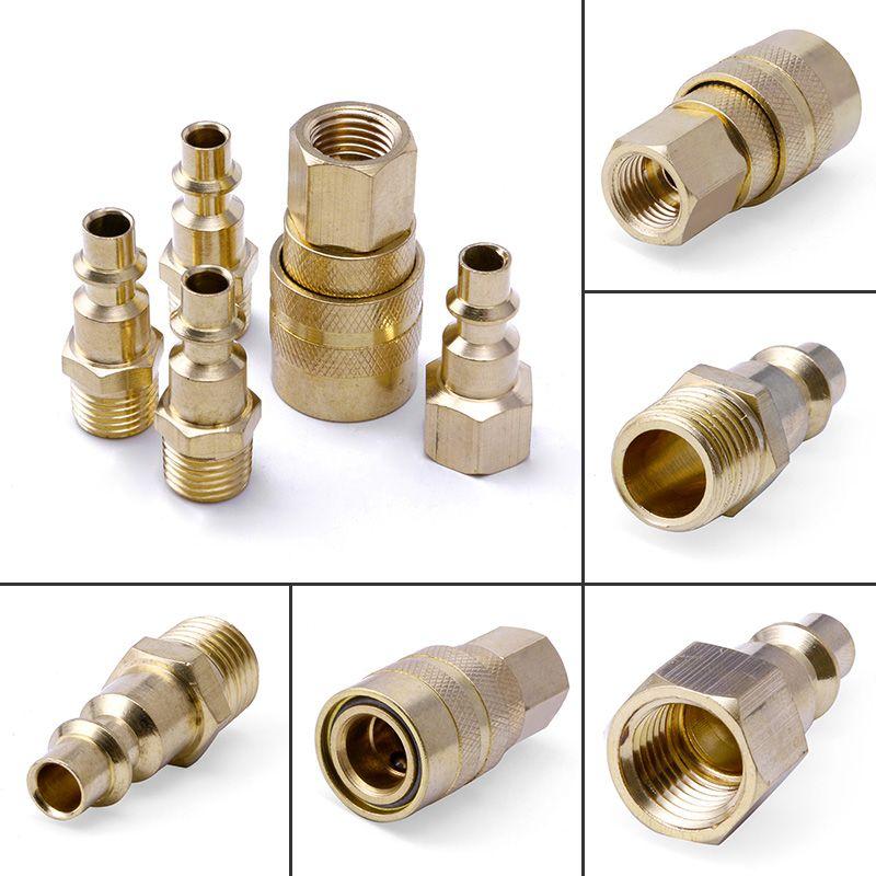 brass USA industrial type quick coupling , quick coupler ,quick plug , quick connectors