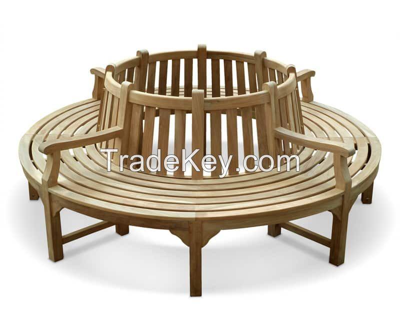 Best Prices Teak Round Tree Bench