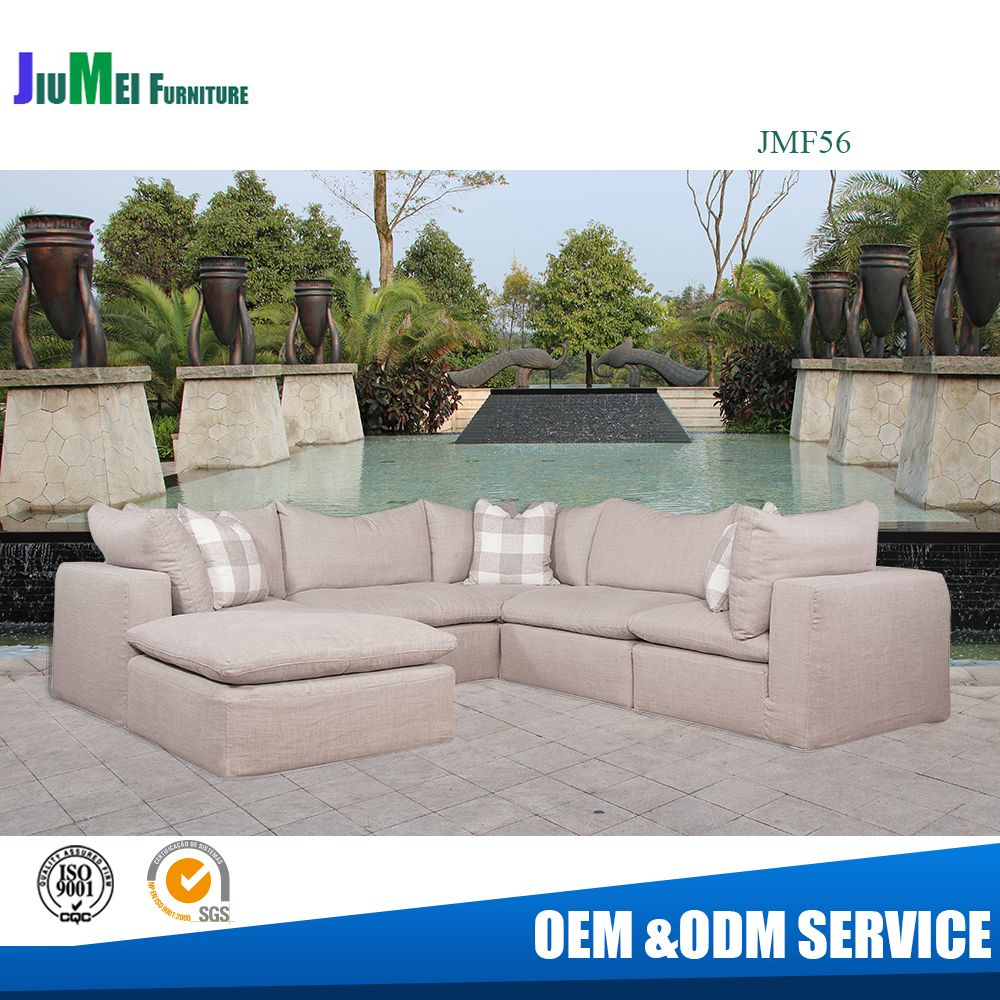 outdoor fabric furniture sectional sofa set (FS56)