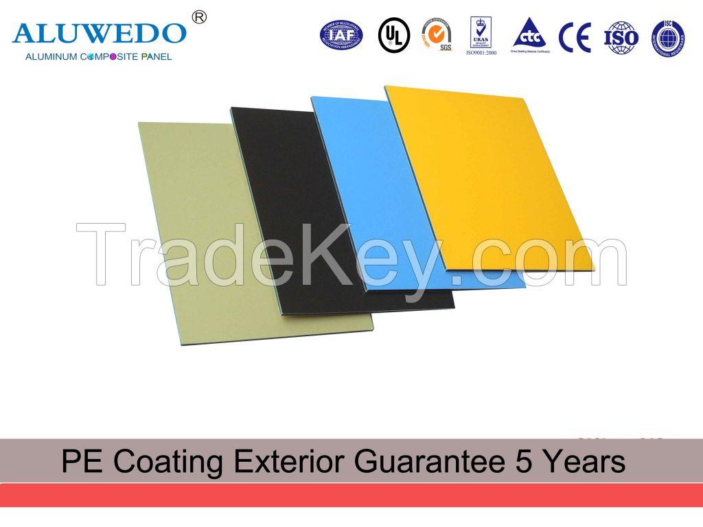 3MM 4MM  1220mmx2440mm PE Painting Aluminum Composite Panel interior decorative panel Aluminium Composite Panel Building Material Signage board Billboard