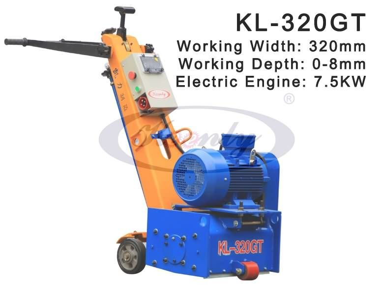 Scarifier Machine for High Way Surface Treatment with Cutters
