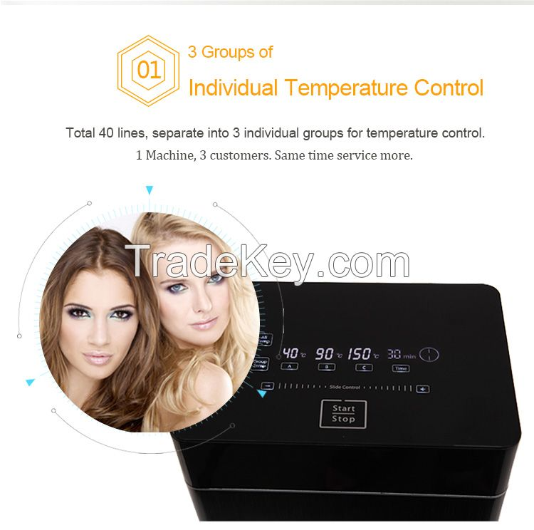 Remote Controlled, Digital Hair Perm Machine, Color Silver, TG90