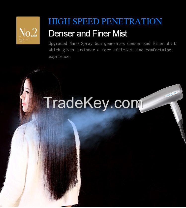 Nano Hair Steamer, Hair Moisture Tool, Skin Moisture Machine S68-II
