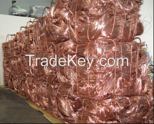 copper scrap millberry 99.9%. copper wire scrap 99.99%