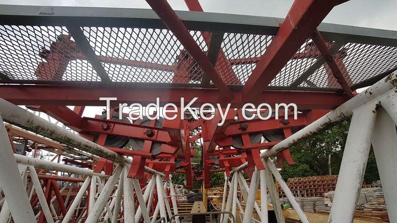 Yongmao STT293-18T Flat Top Tower Crane