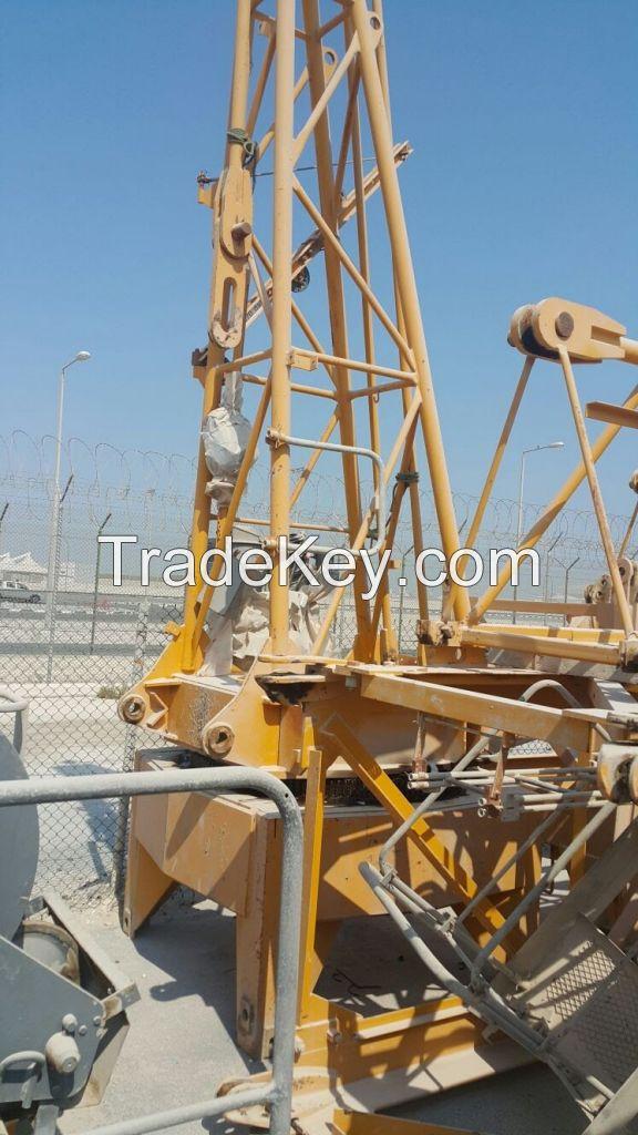 Potain MC175B Construction Tower Crane