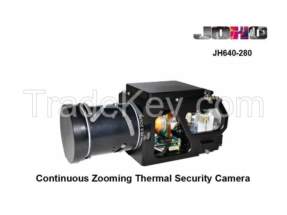 JH640-280  Miniature Airborne MWIR Cooled Thermal Camera