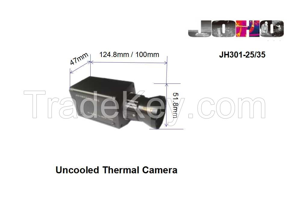 JH301-35/25 Uncooled LWIR Thermal Camera