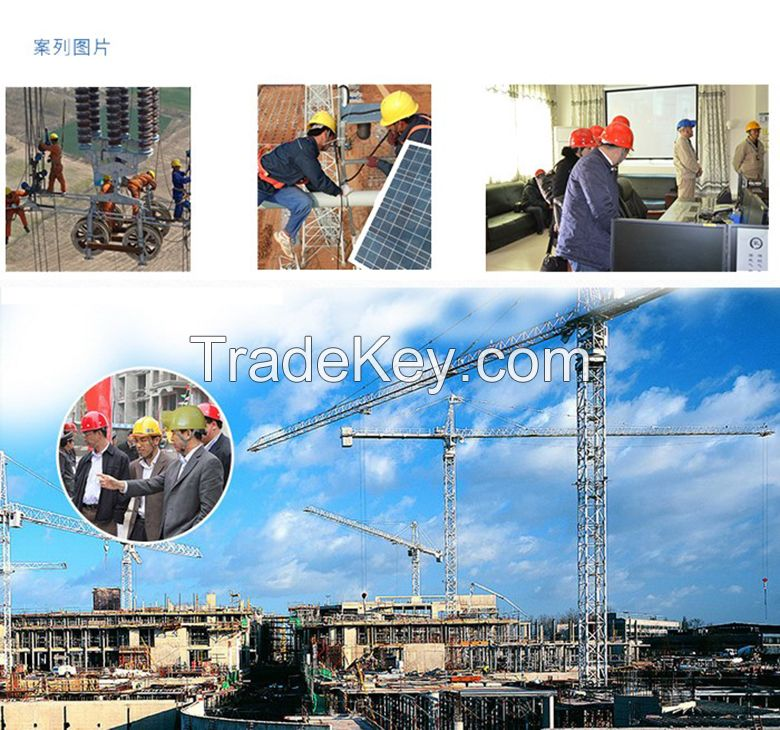Smart 4G video ransmission helmet, construction site helmet, intelligent