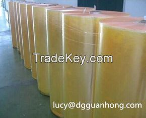 Hot sale clear BOPP adhesive tape Jumbo Roll for packing machine