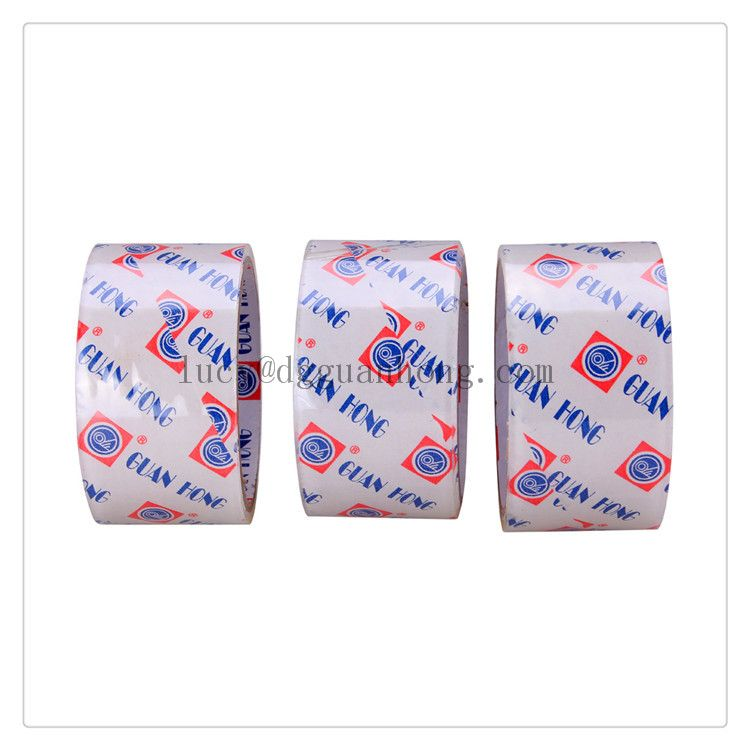 ISO and SGS certificate approved bopp adhesive packing tape