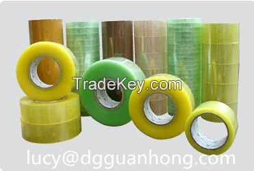 20 years factory good quality strong sticky bopp adhesive packing tape