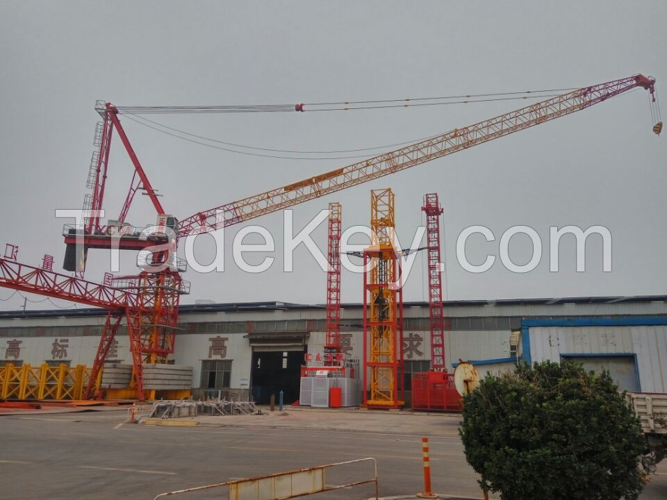 Luffing Tower Crane, Luffing Tower Cranes, Luffing Tower