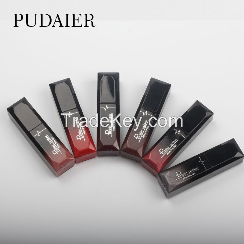 Pudaier Sexy 21Colors Lipgloss Waterproof Matte Liquid Lipstick Lip Makeup