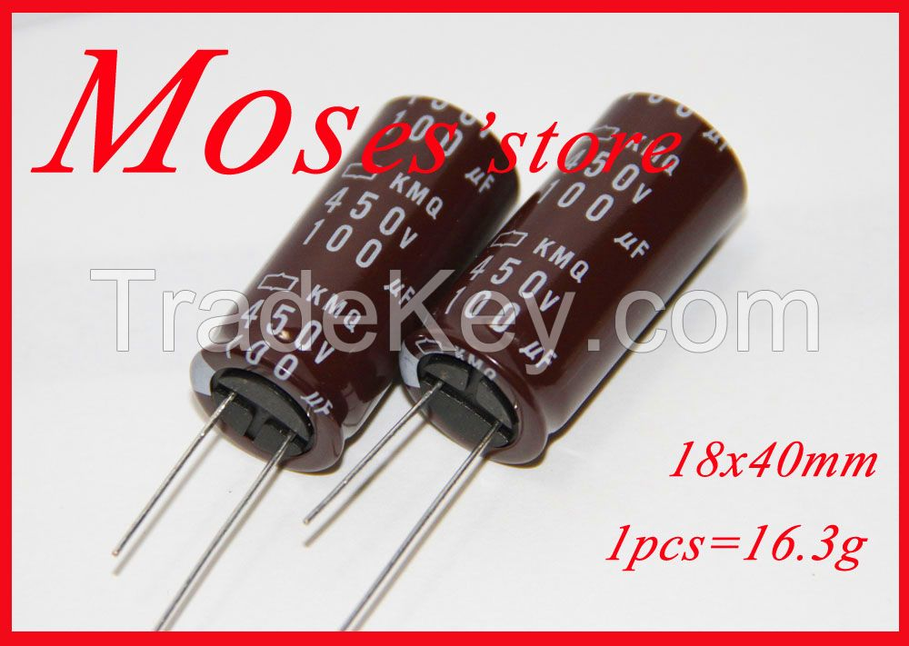 450v 100uf NCC Electrolytic Capacitor Radial 18x40mm