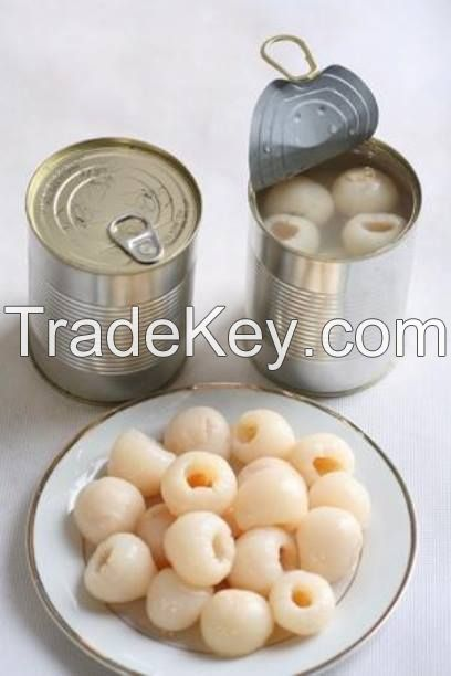 Lychee fruit in syrup can/tin wholesale