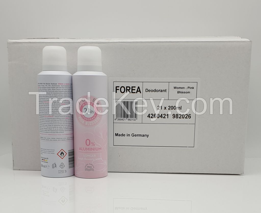 Forea Deodorant Women PINK BLOSSOM 200ml
