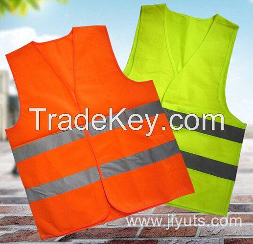High Visibility Reflective Warning Safety Vest