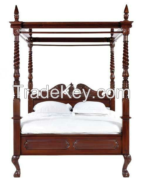 CANOPY BED - FRAME (TMF-E-102)