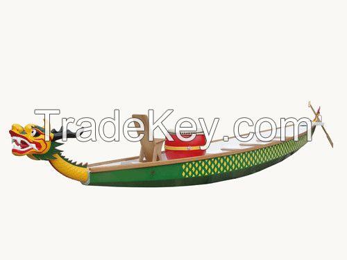 10-20 Person Glass Fiber Dragon Boat for Racing