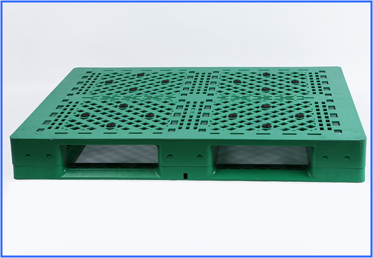 Gridding Heavy Duty Six Runners Recycled HDPE Plastic Pallet