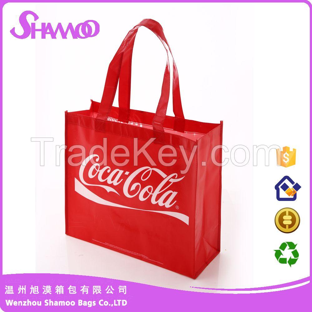 Eco friendly non woven shopping bag manufacturer sedex audit factory