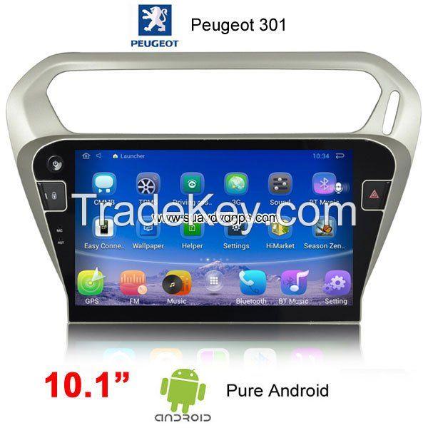 Peugeot 301 Citroen C-Elyssee Android Car Video Player camera