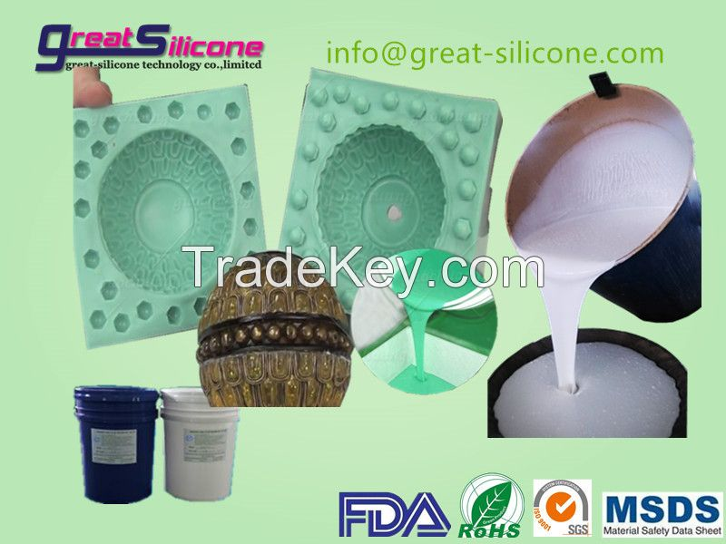 GS-C30 tin cure mould making liquid silicone rubber for polyurethane casting