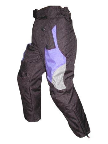 textile children motorbike trouser