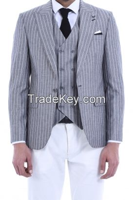 3 pieces Vested Suit